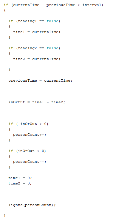 code with millis snippet